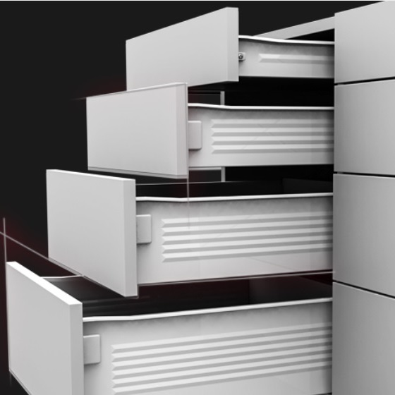 SINGLE WALL DRAWER SYSTEMS